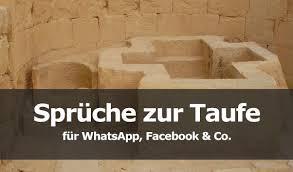 Sprüche Zur Taufe Für Whatsapp Facebook Co