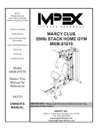 Mkm 81010 Owners Manual Manualzz Com