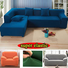 sectional covers. Modren Covers Covers On Sofa Stretch Sectional Slipcover Solid Fabric Case Europe  Universal Armchair Couch Cover L Shaped Corner Coverin Sofa From Home  To Sectional Covers C