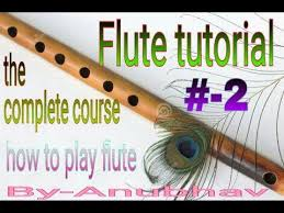 2 Flute Lesson Hindi How To Play Sa Re Ga Ma Pa Dha Ni Sa