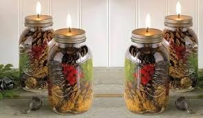 Decorate Jar Candles Decorate Jars Candles Mason Jar Oil Candle Diy Mason Jar Candle 54