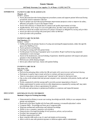 Patient Care Resume Examples Patient Care Tech Resume Samples Velvet Jobs 24