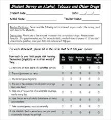 Health Survey Questionnaire Sample Pdf Employee Template For