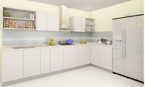 kitchen impressive kitchen design with l shape white kitchen cabinet and rectangle kitchen sink ideas