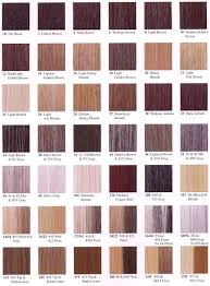 loreal hair color chart