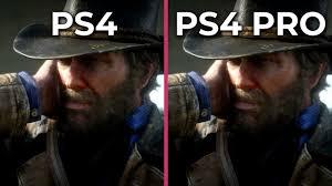 Ps4 Ps4 Pro Comparison Chart Ps4 Vs Ps4 Pro Compare Specs Graphics Size Games Price