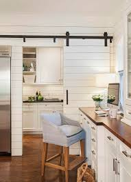 contemporary home office sliding barn. Kitchens: Translucent Sliding Door For The Curated Contemporary Kitchen Home Office Barn