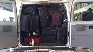 actual customer luggages