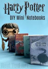 diy harry potter mini books adorable little mini notebook diy for harry potter fan