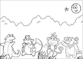 Small Picture Doras friends coloring pages Hellokidscom