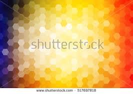 bright background greeting cards polygon background stock  bright background for greeting cards polygon background yellow red color hexagon vector illustration