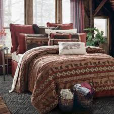 cascade lodge bedding set western passion