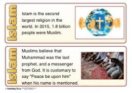 Islam Teaching Ideas
