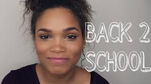 beginners back to makeup tutorial sonjdradeluxe beautstar