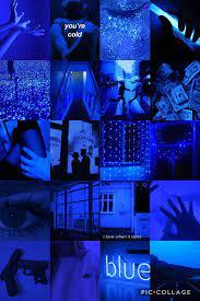 Neon Blue Aesthetic Wallpaper - EnJpg
