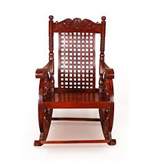 Onlineshoppee Grandpa <b>Rocking Chair</b> (<b>Brown</b>, 43 X 24 X 37 Inch ...