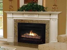 image of prefab fireplace idea