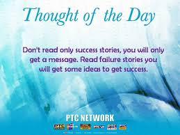 Thought For The Day Quotes Fascinating Inspirational QuotesThought Of The Day PTC News