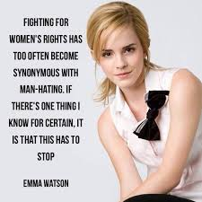 Womens Rights Quotes Gorgeous 48 Empowering Emma Watson Quotes Quotiful