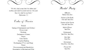 inspirational free wedding program templates best of word template contemporary styles ideas high party programme