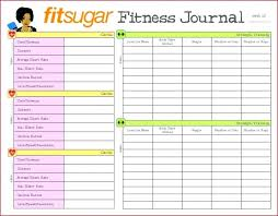 Diet Workout Journal Gym Journal Template Mymuso Co