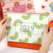 Multi Year Planner Us 10 11 2019 Year Fruit Multi Function Simple Desk Calendar Desktop Wall Calendar Scheduler Planner Yearly Agenda Organizer In Calendar From Office