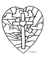 Easter Coloring Pages With Cross Easter Cross Coloring Pages Easter