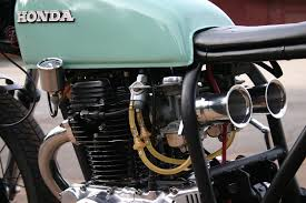 yaar honda cb360 cafe racer by
