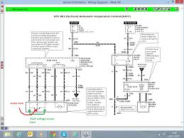 blend door actuator re ed page  right here is a wiring diagram for the eatc and blend door actuator