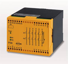 tesch de f124 e stop relay e stop relay and safety gate this is achieved by an electronic protection circuit in the safety relay after elimination of the malfunction the