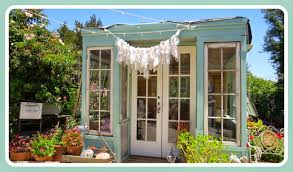 Stylish Sheds Art And Sand Little Cottage In The Garden