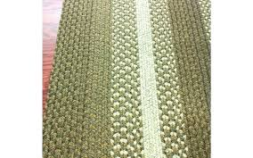 white nuloom round rugs 8x10 ivory hand braided rug