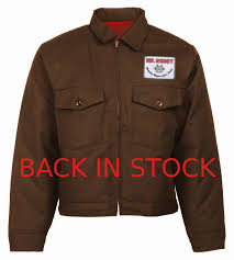 eisenhower patch pocket jacket with patch limited edition red lining as seen on mr robot