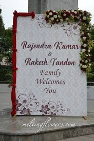 Indian Wedding Name Board Design Contact Us For Decorating Your Events Across South India