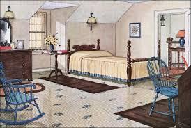Beautiful 1926 Yellow Attic Bedroom