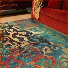 black and teal rug orange and teal area rug cool rugs on x gold gray grey