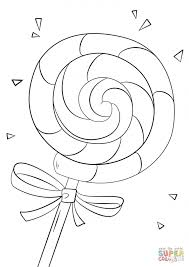 Coloring Pages Free Printable Candy Coloring Pages For Kids