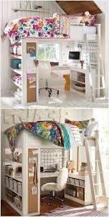 cool bedroom ideas for teenage girls bunk beds. Delighful Ideas UncategorizedLoft Beds For Teen Girls Appealing Lofteds  Girlsedroom Ideas Girl Desk Nook Cool Bedroom Teenage Bunk