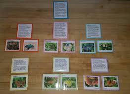Montessori Geography Charts The Montessori Great Lesson Page