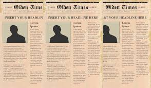 Newspaper Template No Download 17 Free Newspaper Templates Psd Doc Pdf Ppt Free Premium
