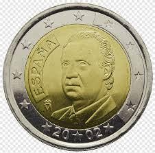 2 عملة اليورو اسبانيا اسبانيا عملات اليورو ، كوين, الذهب, 2 عملة اليورو png