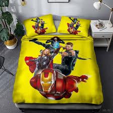 Luxury Designer Bedding Sets Best Price Fc72f Avengers Customized Bedding Set 3pcs