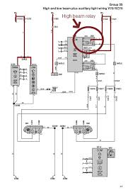 auxiliary driving lamps v70 wiring diagram