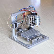 assembly of diy cnc 3 axis desktop engraver machine usb pcb milling wood carving router kit you
