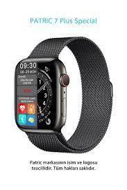 PATRİC Smartwatch 7 Plus Special - 2021 Yeni Versiyon Iphone Ve Android  Uyumlu Çelik Kordon Akıllı Saat Fiyatı, Yorumları - TRENDYOL