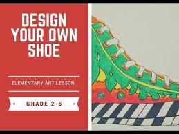 Elementary Art Lesson Plans Elementary Art Lesson The Hand Line Design Youtube