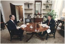 filethe reagan library oval office. File:Photograph Of President Reagan And Vice-President Bush Eating Lunch In The Oval Filethe Library Office 0
