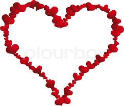 valentine heart frame. Plain Heart St Valentine Day Vector Heart Frame For Design Use  Stock Vector  Colourbox On Heart Frame T