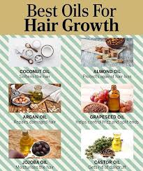 12 best oils for hair growth thickness