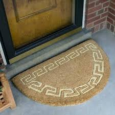 extra large semi circle doormat half round door mats outdoor entry rug size x indoor mat